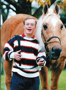 Andrew And CH Starfire Fox Graced Many A Leadline Class